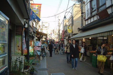 Yanaka Ginza Shopping Street, Yanaka, Japan