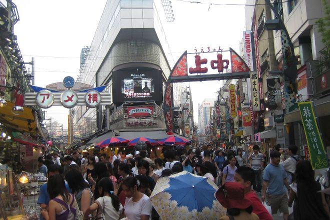 Ameya Yokocho (Ameyoko), Ueno, Japan