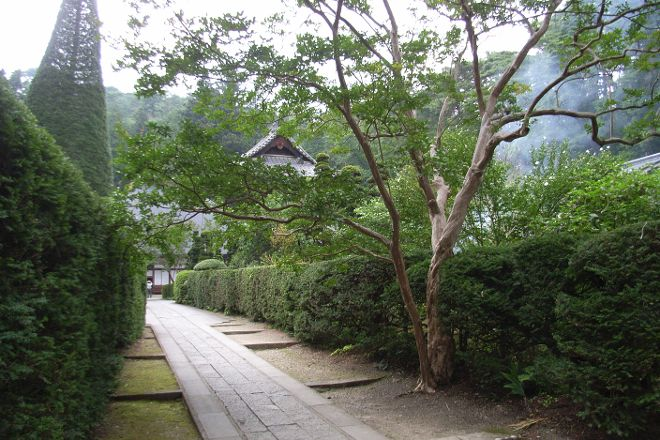 Anrakuji Temple, Ueda, Japan