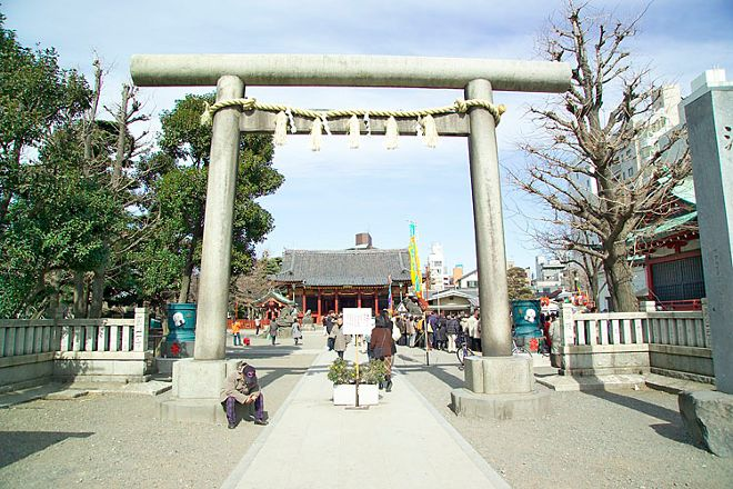 Asakusa Shrine, Asakusa, Japan