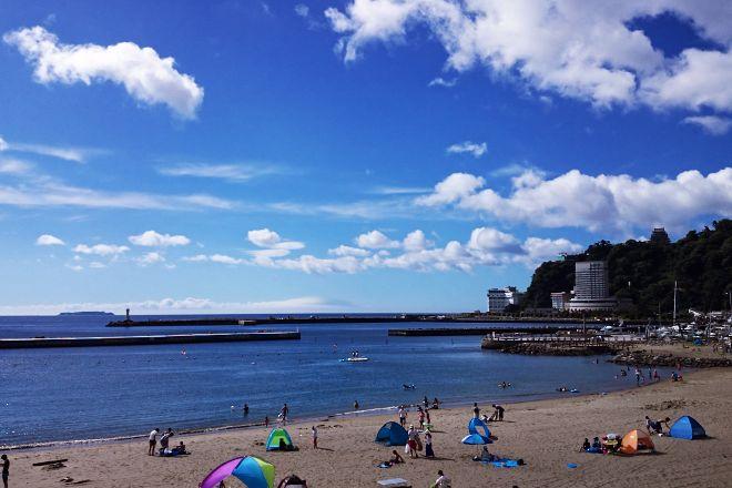 Atami Sun Beach, Atami, Japan