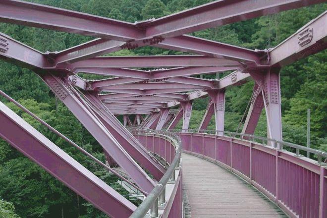 Ayatori Bridge, Kaga, Japan