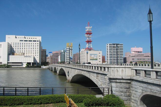 Bandai Bridge, Niigata, Japan