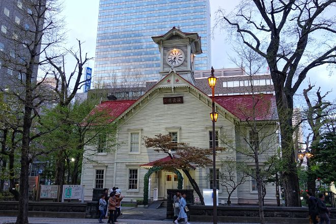 Sapporo Clock Tower, Chuo, Japan