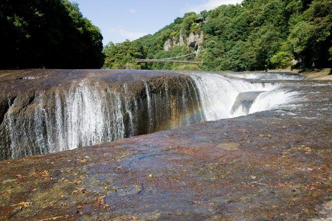 Fukiwarenotaki Falls, Numata, Japan