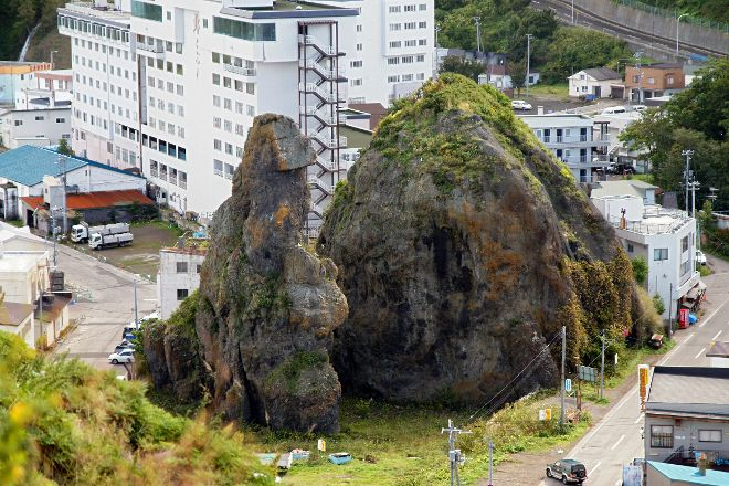 Godzilla Rock, Shari-cho, Japan