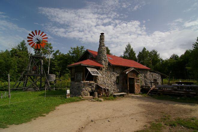 Goro's Stone House, Furano, Japan