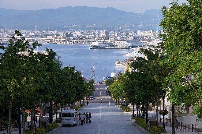 Hachimanzaka, Hakodate, Japan