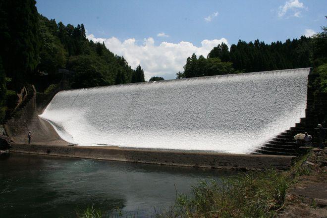 Hakusui Dam, Taketa, Japan