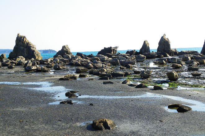 Hashigui Rock, Kushimoto-cho, Japan