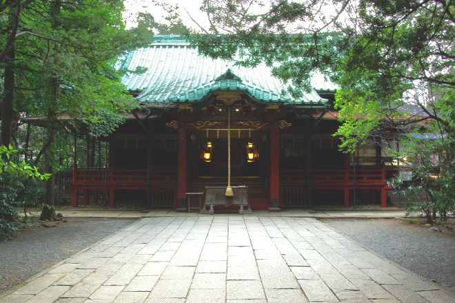 Hikawa Shrine, Akasaka, Japan