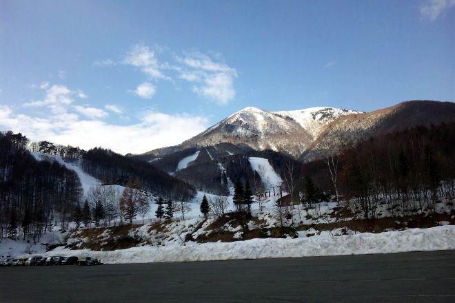Iizuna Kogen Ski Area, Nagano, Japan
