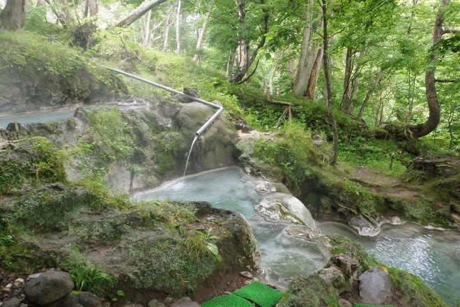 Iwaobetsu Onsen Rotenburo, Shari-cho, Japan