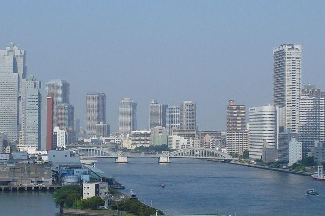 Kachidoki Bridge, Tsukiji, Japan