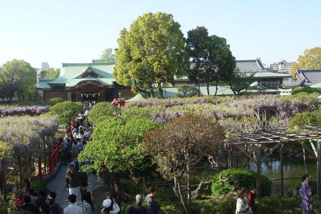 Kameido Tenjinsha, Kameido, Japan