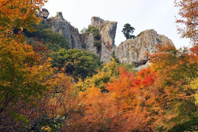 Kankakei Gorge, Shodoshima-cho, Japan
