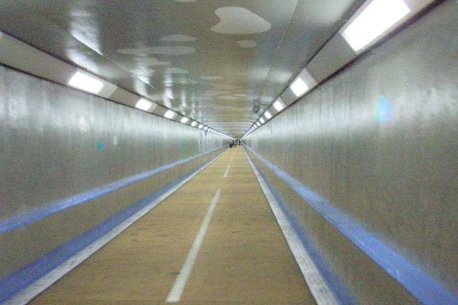 Kanmon Tunnel for Humans (Shimonoseki Side), Shimonoseki, Japan