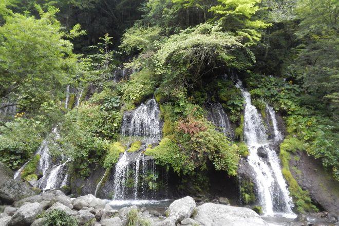 Kawamata Higashi Canyon Shizen Kansatsuen, Hokuto, Japan