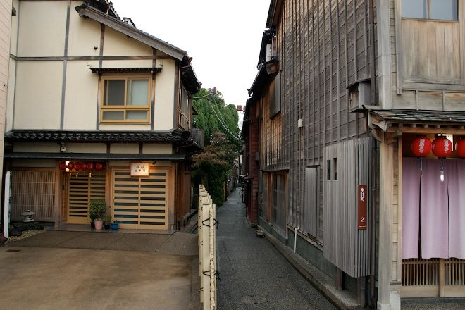 Kazuemachi Tea House Street, Kanazawa, Japan