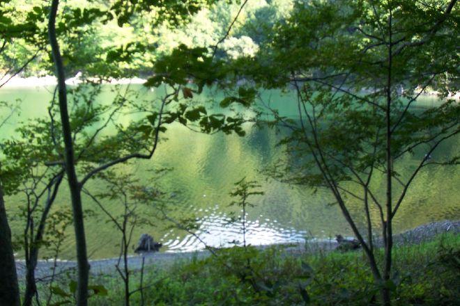 Lake Juniko, Fukaura-machi, Japan