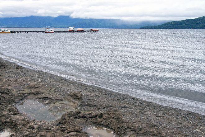 Lake Kussharo Sand Bath, Teshikaga-cho, Japan