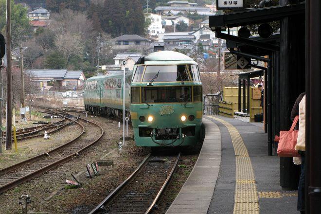 Limited Express Yufuin no Mori, Kyushu, Japan
