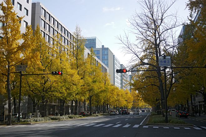 Midosuji Street, Chuo, Japan