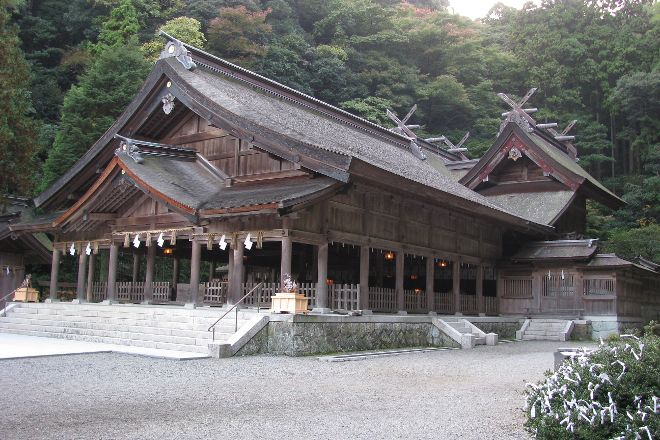 Miho Shrine, Matsue, Japan