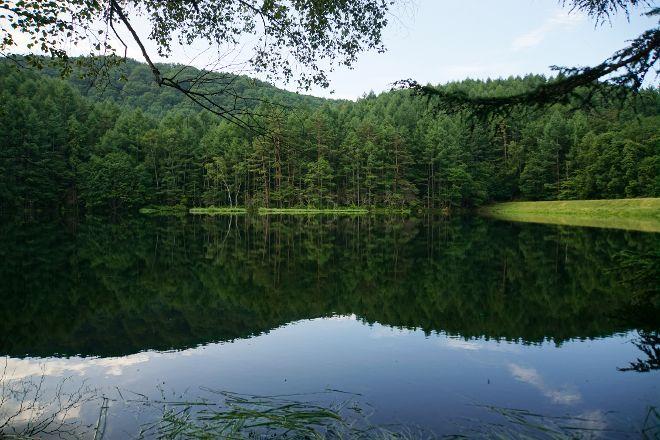 Mishakaike Pond, Chino, Japan