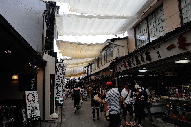 Miyajima Omotesando Shopping Street, Miyajima, Japan