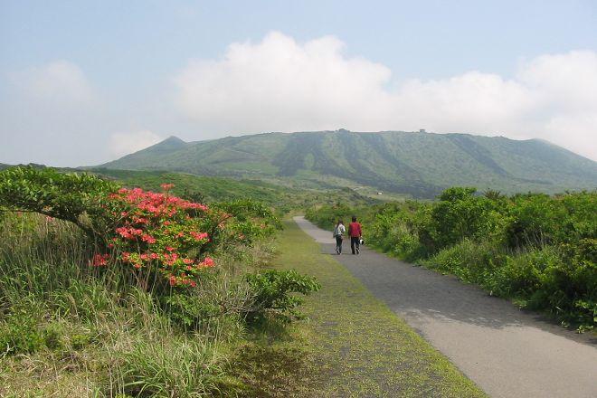 Mt. Mihara, Oshima-machi, Japan