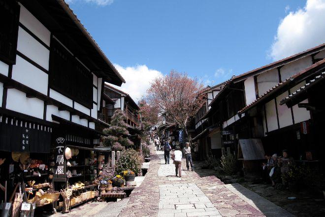 Nakasendo Magome-juku, Nakatsugawa, Japan