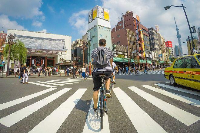 Off-Street Cycling Tokyo, Taito, Japan
