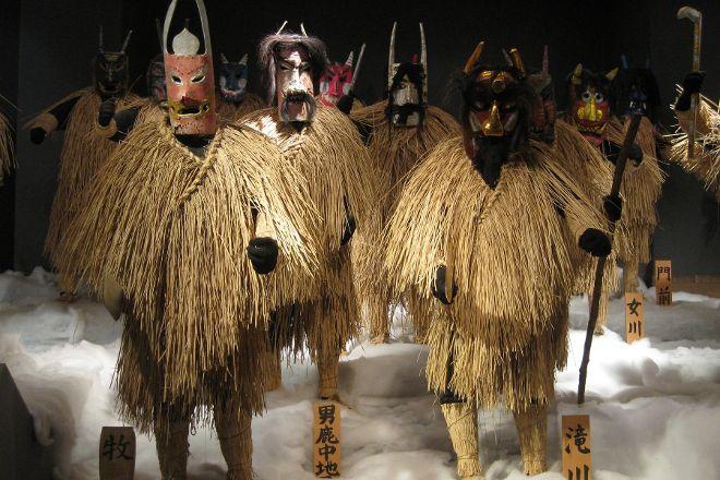Ogashinzan Traditional Museum, Oga, Japan