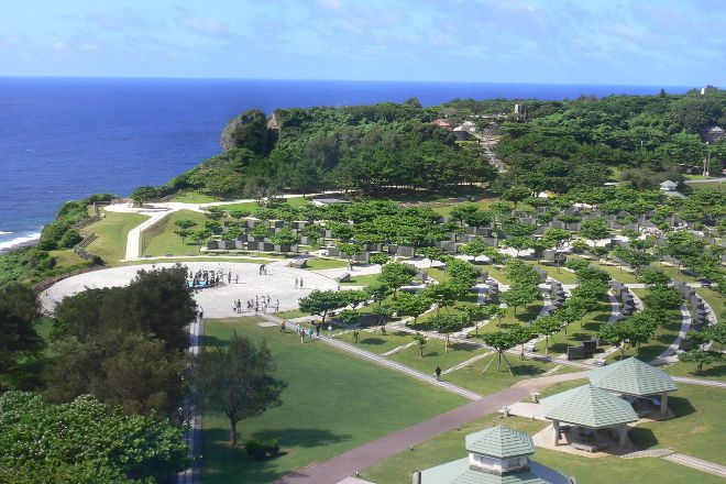 Okinawa Peace Memorial Park, Itoman, Japan