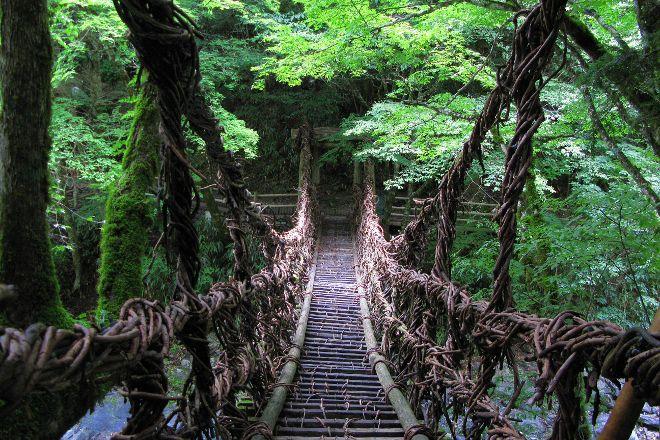 Okuiya Niju Kazurabashi Bridge, Miyoshi, Japan