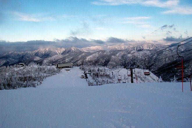 Okushiga Kogen Ski Area, Yamanouchi-machi, Japan