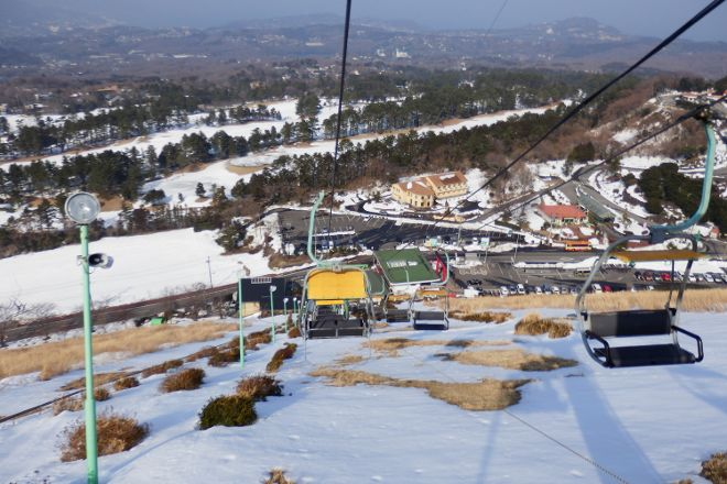 Omuro Mountain Lift, Ito, Japan