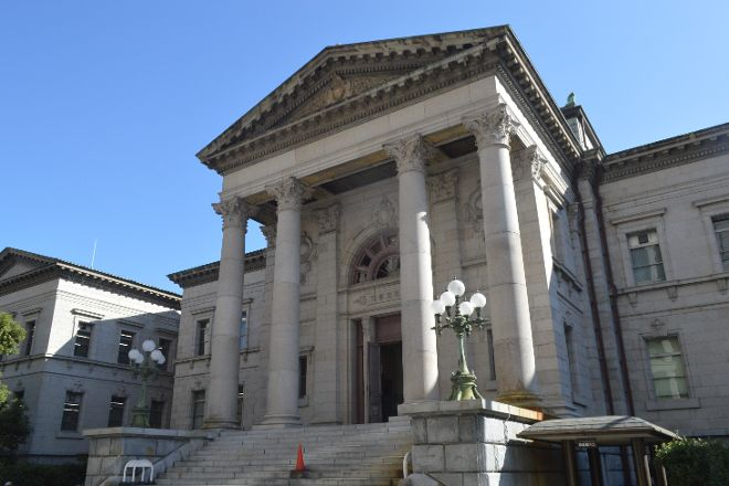 Osaka Prefectural Nakanoshima Library, Osaka, Japan