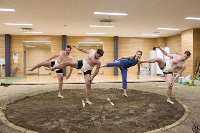 Raien Sumo Experience, Mitaka, Japan