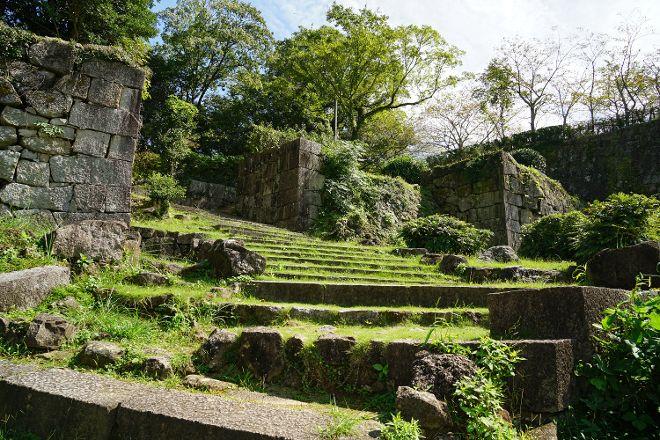 Ruins of Shingu Castle, Shingu, Japan