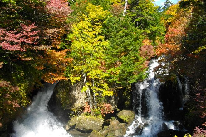 Ryuzu Waterfall, Nikko, Japan
