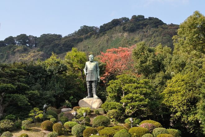 Saigo Takamori Statue, Kagoshima, Japan