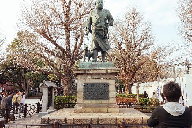 Saigo Takamori Statue, Taito, Japan