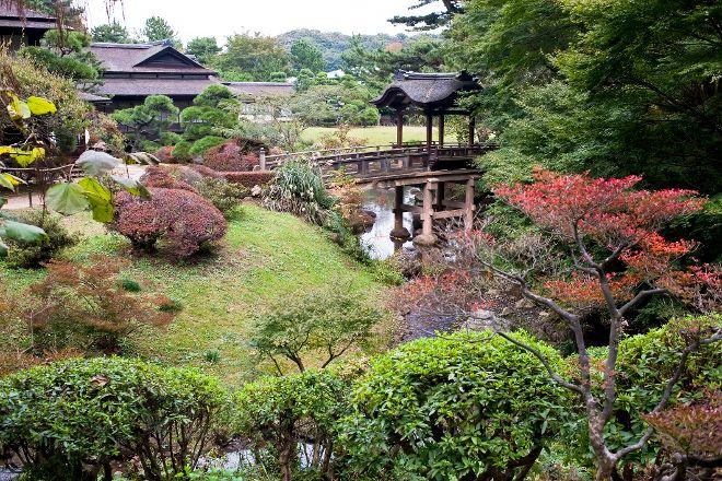 Sankeien Gardens, Naka, Japan
