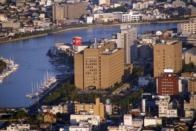 Shimmachi River, Tokushima, Japan