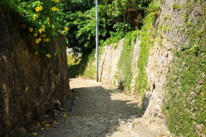 Shrikinjocho Stone-Path Road, Naha, Japan