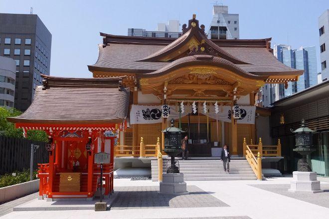 Suitengu Shrine, Nihonbashi, Japan
