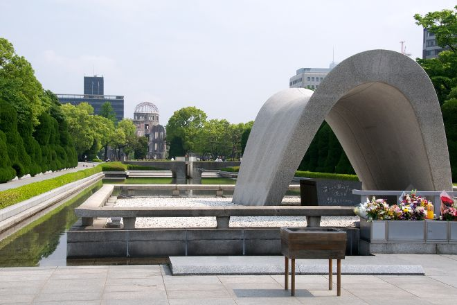 The Cenotaph, Hiroshima, Japan