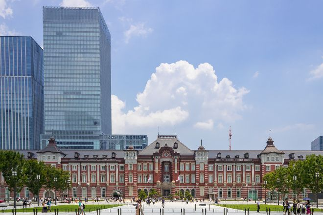 Tokyo Station Marunouchi Ekimae Hiroba, Marunouchi, Japan